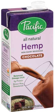 Pacific Foods of Oregon's hemp milk