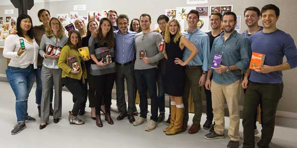Members of the first class of Chobani Food Incubator