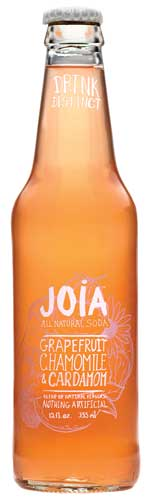 Joia Natural Soda Grapefruit, Chamomile & Cardamom beverage