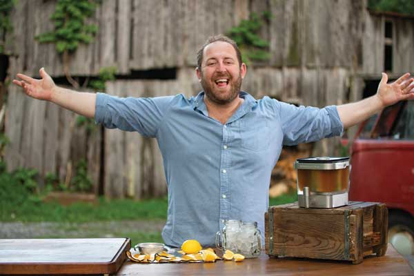 Celebrity chef Joel Gamoran