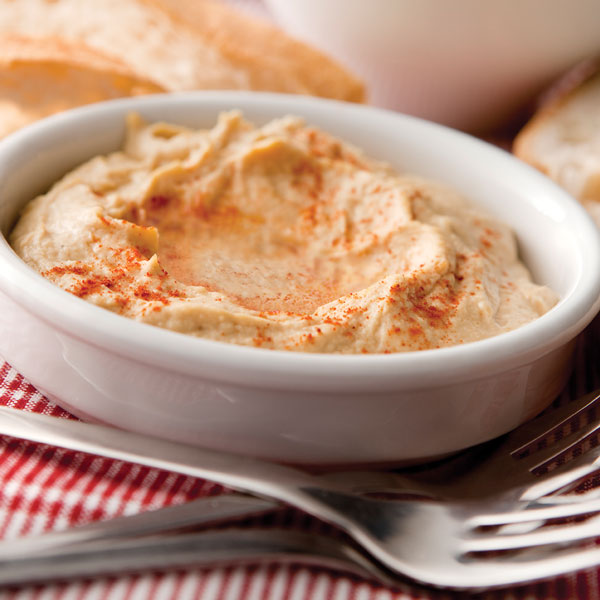 Protein-Powered Curry Hummus