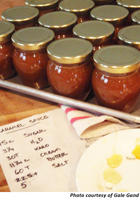 Gale Gand's Salted Carmel Sauce