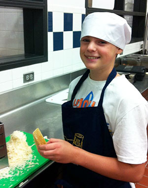 Chef Mark's son Matthew Allison