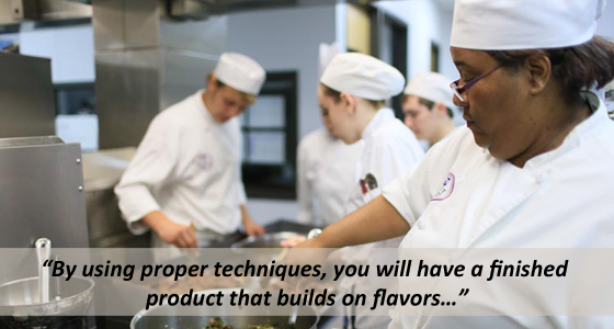By using proper techniques, you will have a finished product that builds on flavors…