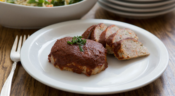 Square Meals Turkey Meatloaf