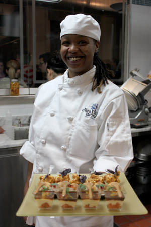Syrena Johnson at the International Culinary Center